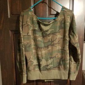 Ralph Lauren Sz S Denim and Supply camo sweatshirt